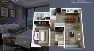 SOHO Apartamentos 65.50 mts2 Zona 12